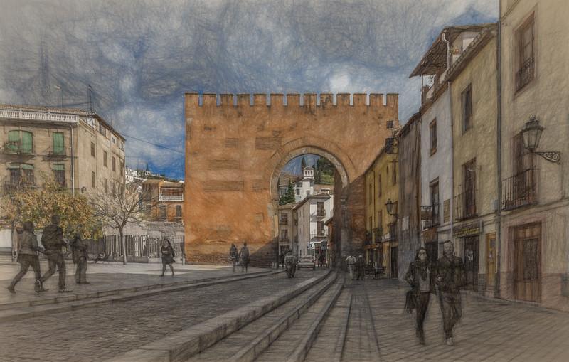 14 de Noviembre de 2014 - Puerta Elvira - Granada