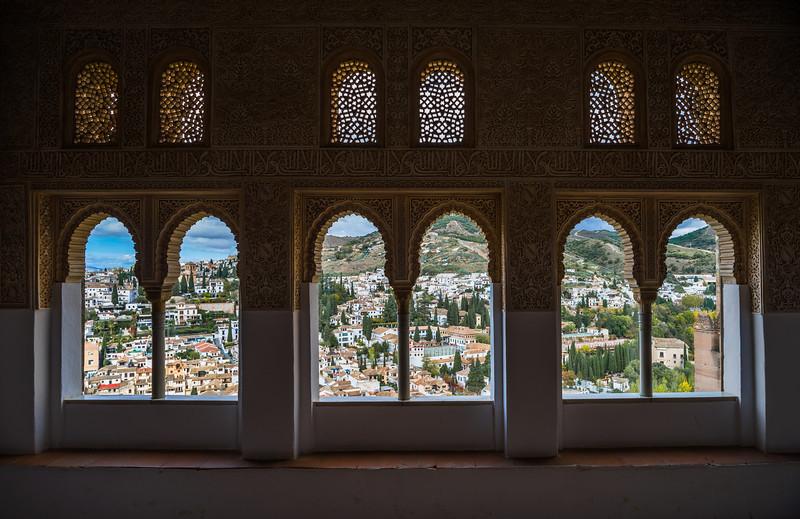 11 de Noviembre de 2014 - Albayzín desde La Alhambra