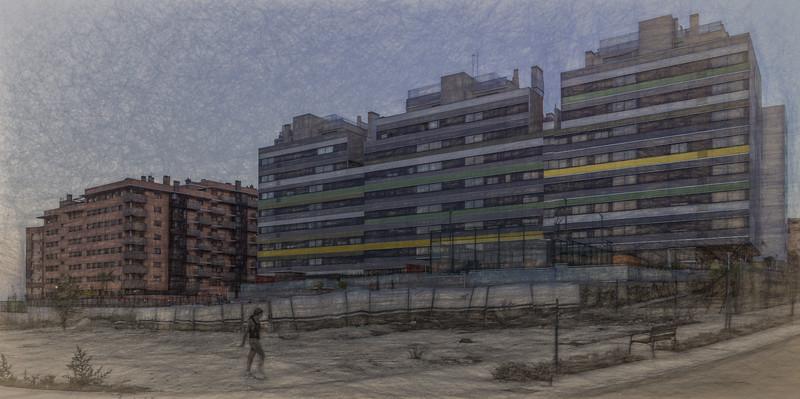 31 de Octubre de 2014 - Avenida de la Comunidad Valenciana. Nuevo Tres Cantos.
