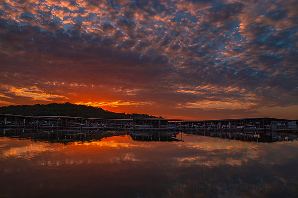8.10.20 -  Prairie Creek Marina this am.