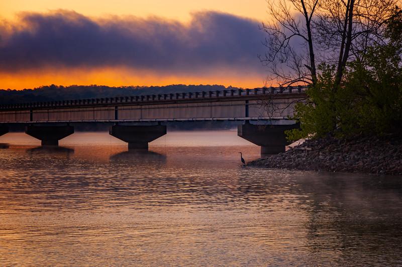 4.19.21 - 12 Bridge this am.