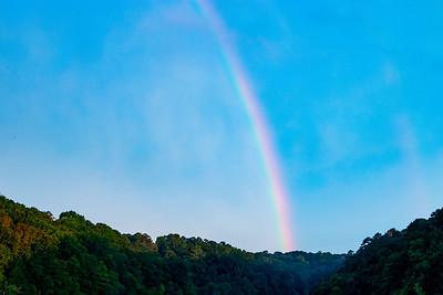 8.13.20 - Beaver Shores Rainbow this am.