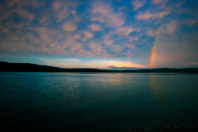 8.13.20 - Beaver Shores Rainbow this am.