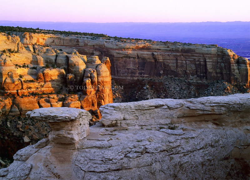 Colorado National Monument Sunrise  Email Todd
