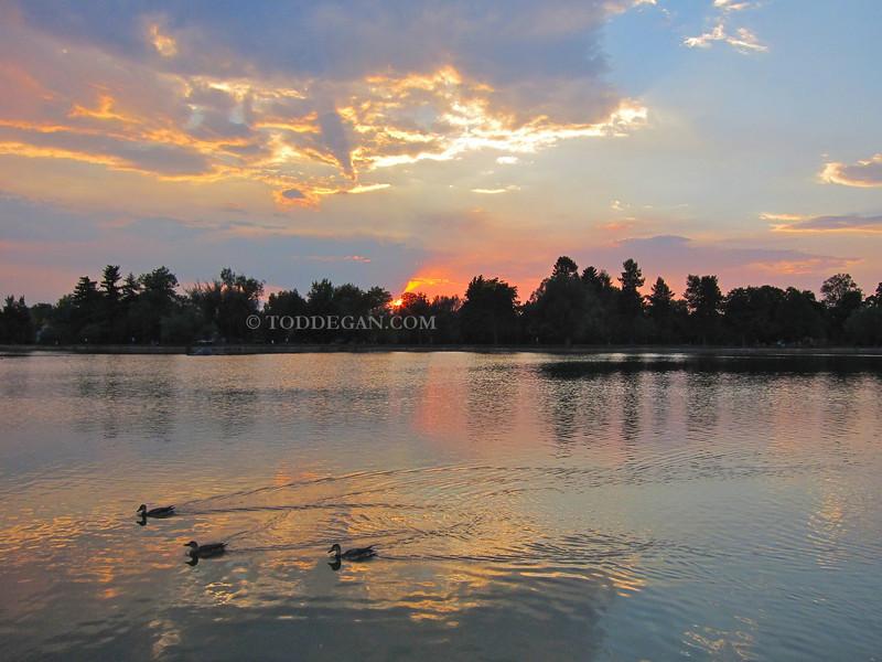 Washington Park Sunset  Email Todd