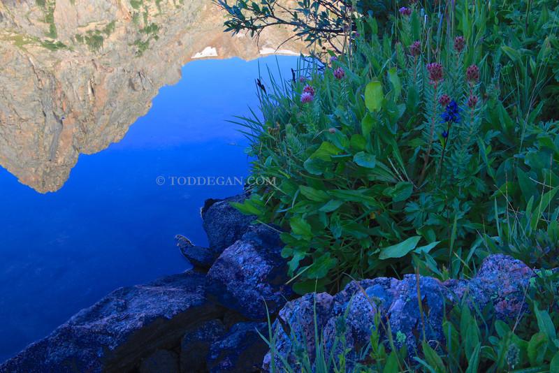 Gore Lake Reflection 1
