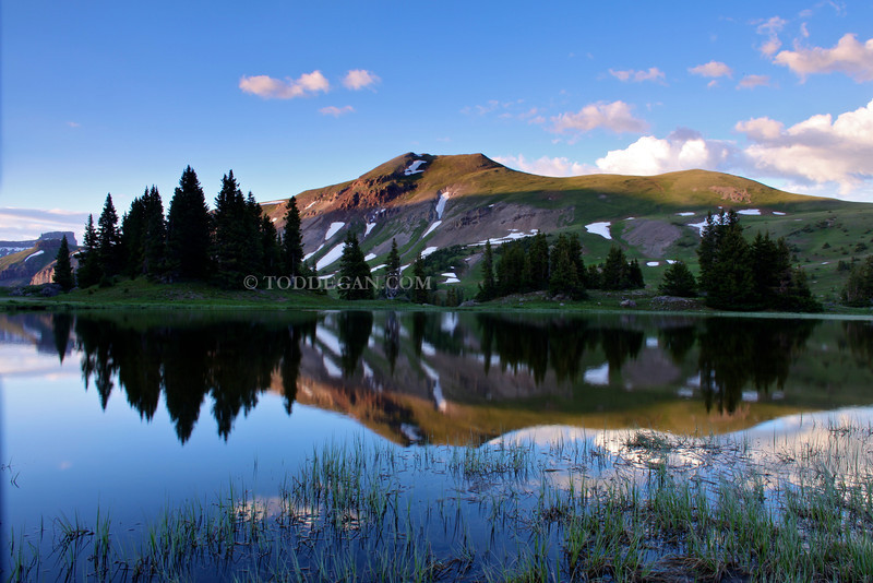 Idyllic Lake in the Uncompahgre Wilderness
