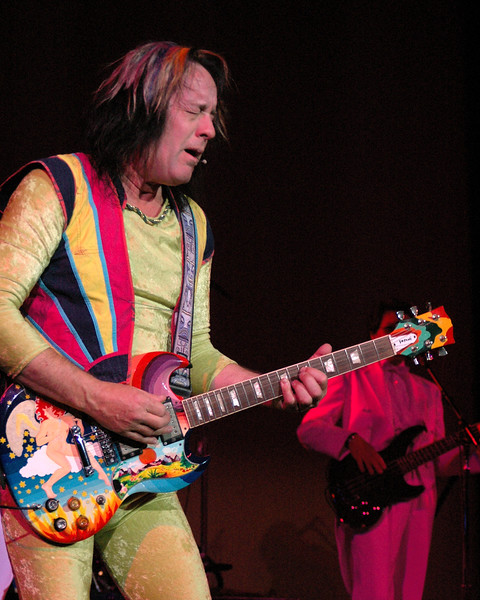 "Todd Rundgren performing his ""A Wizard, A True Star"" album at the Crest Theater in Sacramento, CA on December 2, 2009."