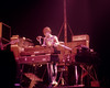 Synthesizer pioneer Roger Powell performing with Utopia at the Beacon Theater in N.Y.C. on December 14, 1975.