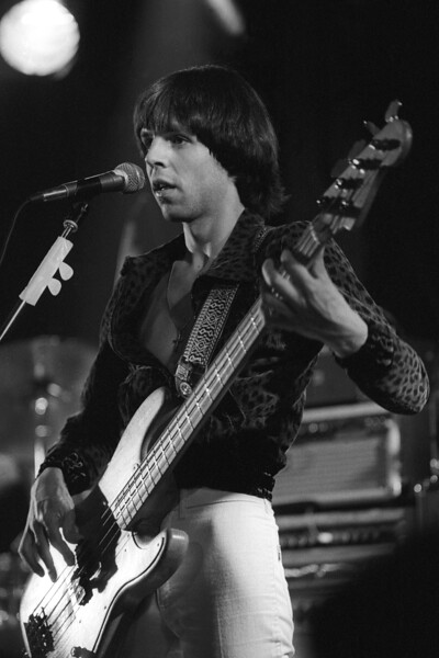 Kasim Sulton performing with Utopia at the Old Waldorf in San Francisco on April 29, 1979.