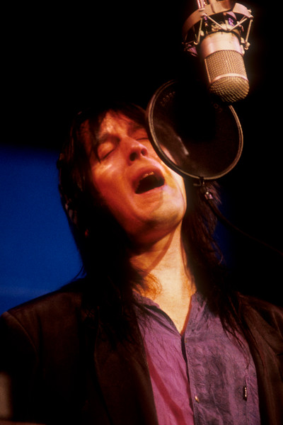 Todd Rundgren performing at the Palace of Fine Arts in San Francisco during the Second Wind live recording sessions.