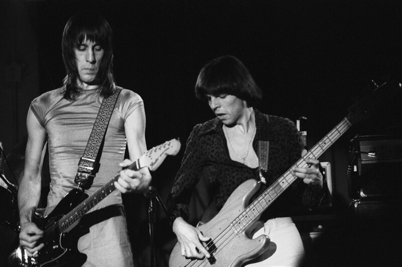 Todd Rundgren and Kasim Sulton perform with Utopia at the Old Waldorf in San Francisco on April 29, 1979.