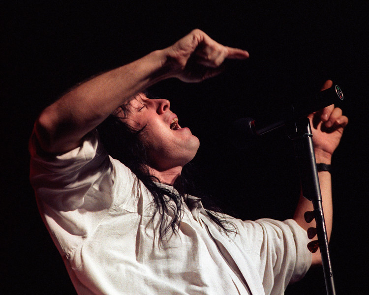 Todd Rundgren performing at the Warfield Theater in San Francisco on March 10, 1990.
