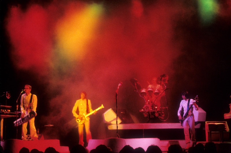 "Utopia performing at the Arlington Theater in Santa Barbara on the ""Adventures In Utopia"" tour on May 30, 1980."
