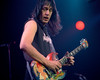 "Todd Rundgren performing at the Fillmore Auditorium on March 3, 1989. Todd is playing the Gibson SG originally used by Eric Clapton in Cream and painted by Beatles associates ""The Fool."""
