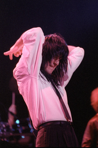 SAN FRANCISCO, CA-JULY 12: Todd Rundgren performing at the Fillmore Auditorium in San Francisco on July 12, 1989. (Photo by Clayton Call/Redferns)