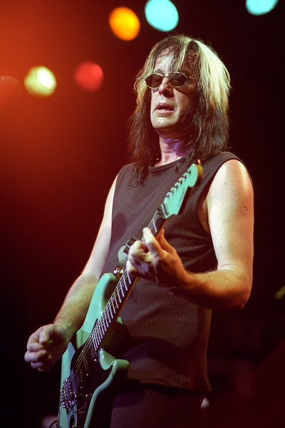 Todd Rundgren performing live on stage at Maritime Hall in San Francisco on June 11, 2000.