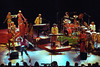 Todd Rundgren and his band performing at the Warfield Theater in San Francisco on May 10, 1991.
