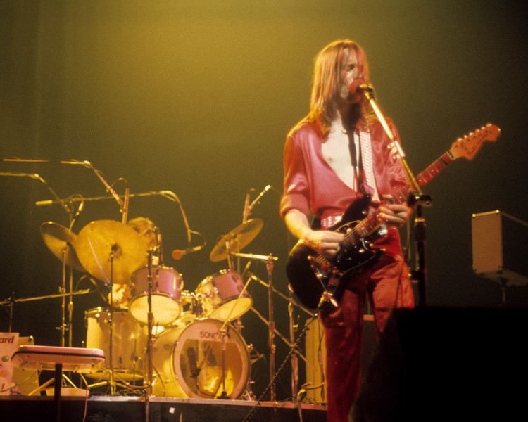 Willie Wilcox and Todd Rundgren performing with Utopia at the Beacon Theater in N.Y.C. on December 14, 1975.