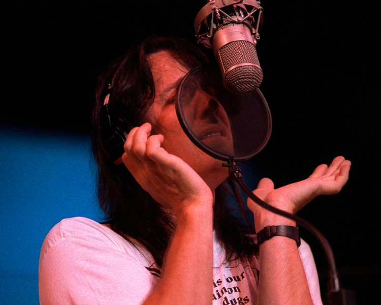 Todd Rundgren performing at the Palace of Fine Arts in San Francisco during the Second Wind live recording sessions on July 7, 1990.