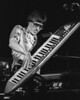 """Roger Powell performing on the """"Powell Probe"""" with Utopia at the Old Waldorf in San Francisco on April 27, 1979."""