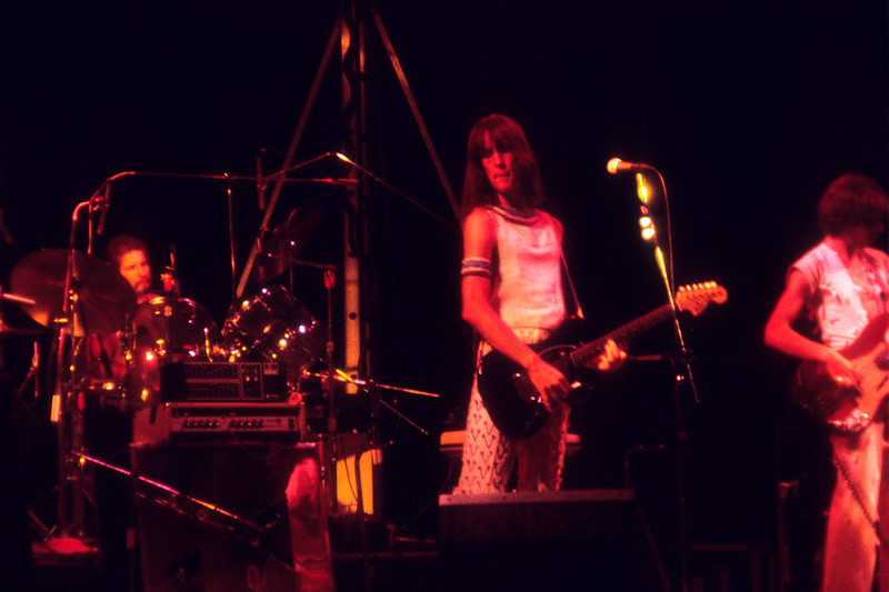 Utopia performing at the Berkeley Community Theater on July 31, 1976.