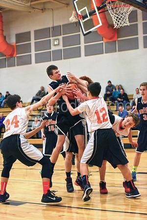 2015-16    8th Grade Mustang Basketball