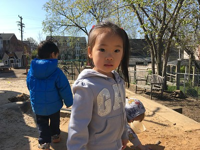 Toddler Outdoors 4/14/16