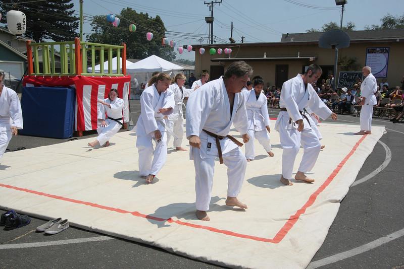 Encino Judo demonstration