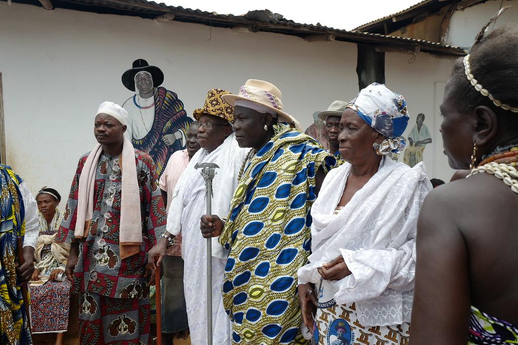 Soza family ceremony - Ouidah, Benin