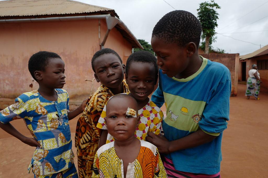 At the Glele family zone - Abomey, Benin