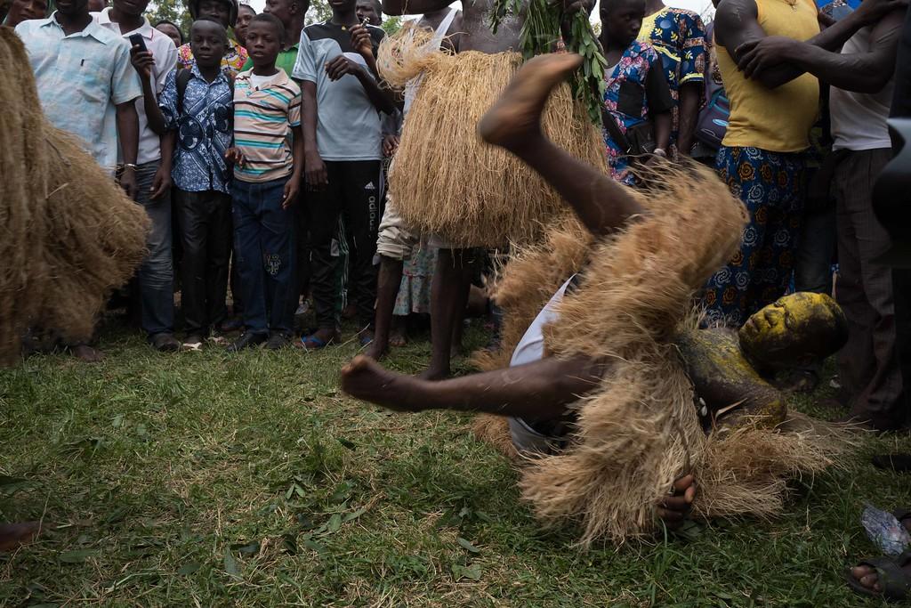 Abogbo-Za Ceremony - Notse, Togo