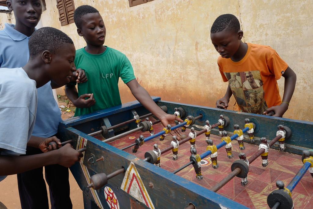 Street game - Ouidah Benin