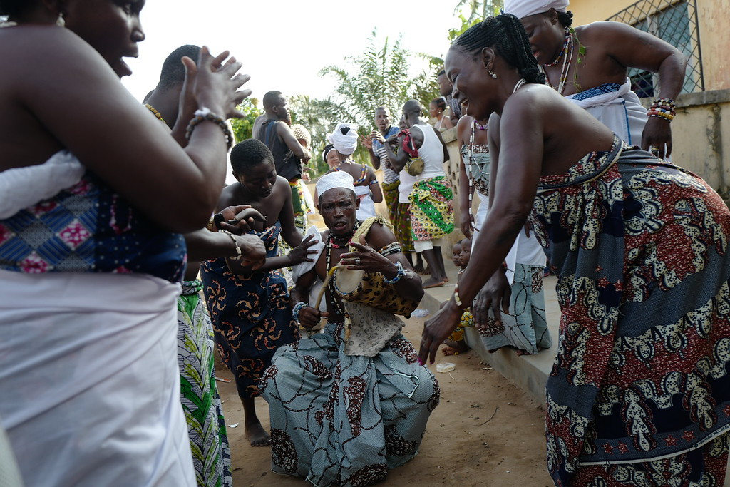 Preparations for Epe-Ekpe - Klidgi, Togo