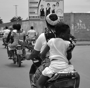 Motardes à Lomé