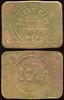 NEVADA<br /> Lot 413:  DESERT CLUB / TONOPAH, / NEV. // 12½¢, br re 36x28mm.  Listed Td-20b.  G4-($75-$150)