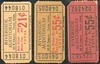 CHITS/TICKETS/CARDS - Arizona<br /> Lot 420:  RIVERSIDE / AUDITORIUM / 645 W. CONGRESS  TUCSON, ARIZONA, 21¢ ticket. Red/black imprint/yellow cb re 51x25mm.    G5-(EV$16/32)-MB$10 - SOLD $15<br /> <br /> Lot 421:  Similar, but 55¢.  Orange cb.  G5-(EV$16/32)-MB$10 - SOLD $15<br /> <br /> Lot 422:  Similar, but 55¢. Black imprint/red cb.   G5-(EV$16/32)-MB$10 - SOLD $15