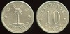 FOREIGN - Nicaragua<br /> Lot 353:  G.S. & S. / (palm tree) / WOUNTA // Exchange / 10 / Cents, wm rd 25mm.  Listed Rulau Zel 17 unpriced.  Extremely rare – Nicaragua tokens are few and far between!    G5-($400/800)-MB$200 - DNS
