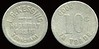 CALIFORNIA<br /> Lot 200:  L.B. KESSING / HIGHWAY / OASIS / TEHACHAPI // Good For / 10¢ / In Trade, al rd 24mm, somewhat worn.  Listed 2K-7.   G3-(EV$150/300)-MB$75 - DNS