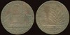 FOREIGN - Great Britain (Conder)<br /> Lot 332:  HE SPAKE OF TREES FROM THE CEDAR TREE THAT IS IN LEBANON / (arched gate inscribed incuse: BOTANIC GARDEN) / BATH TOKEN / 1794 // Even Unto The Hyssop That Springeth Out Of The Wall / (tree and ruins of stone arch) / I Kings: Ch: 4. / V: 33., (Somerset), cu rd 30mm.  G3-(EV$40/80) MB$3 - DNS5