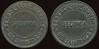 Latin America TRANSPORTATION - Santiago, Chile<br /> Lot 362:  FERRO CARRIL / URBANO / SECUNDA / DE SANTIAGO // (same), black vu rd 26mm.  Listed 680E $12.  G3-(EV$20/40)-MB$15 - DNS