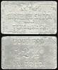 SALOON - WA, Tekoa<br /> Lot 26:  AT THE / RICHELIEU SALOON / TEKOA, WASH. // Good For / 12½¢ / In Trade, al re 32x19mm.  Listed E-2 $80/150.  G3-EV$150/300-MB$100