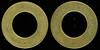 TRANSPORTATION -- Kentucky<br /> <br /> Lot 105  LOUISVILLE RAILWAY COMPANY / (c/ham) // For Transfer Only / (c/h), br rd 21mm.  KY 510AF $200.    G3-($250-$500)  SOLD $200