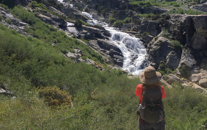 Sequoia NP: Tokopah Falls Marble Fork of the Kaweah River with Chris and Mary