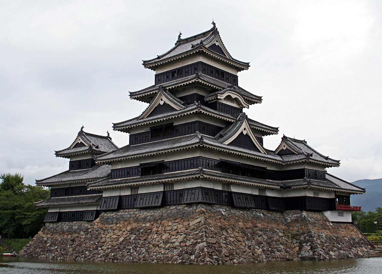 Matsumoto Jo (castle).  One of the few original ones still standing.