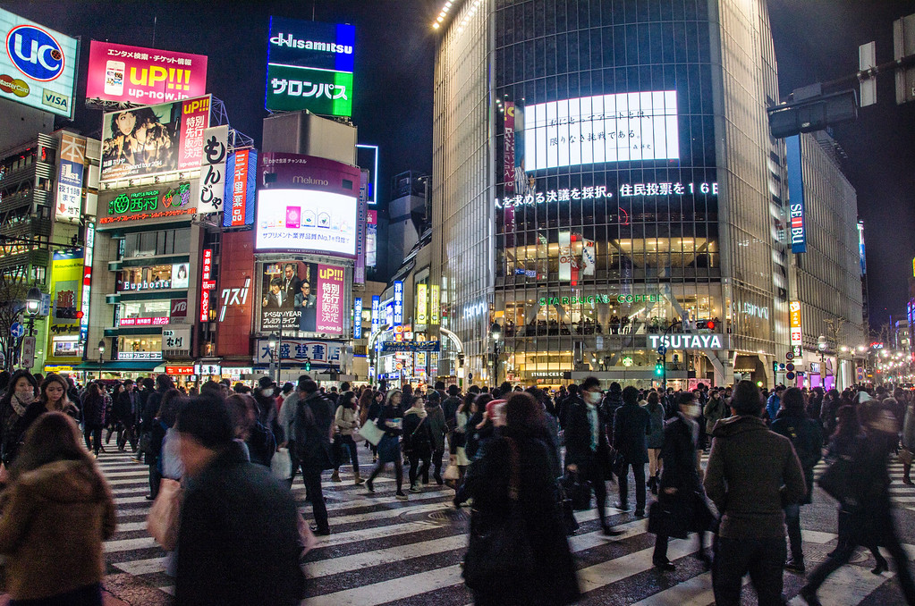 Shibuya Crossing - 10 Things To Do in Tokyo
