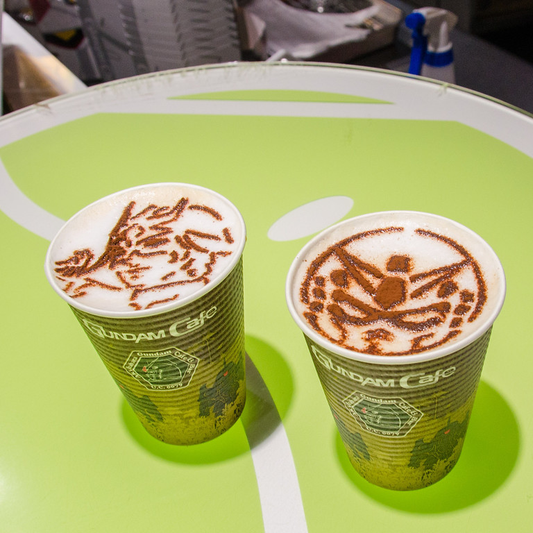 Gundam Cafe - 10 Things To Do in Tokyo