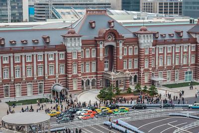 Tokyo Station Tiltshift