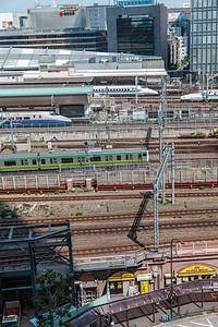 Trains at Tokyo Station