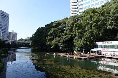Benkei-bori moat, part of the former Edo castle outer moat